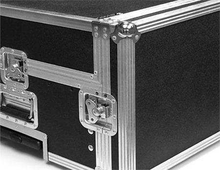 custom ata road case with side opening door